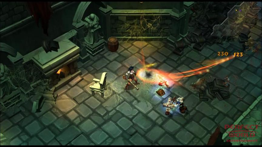Le gameplay du Vanquisher de Torchlight