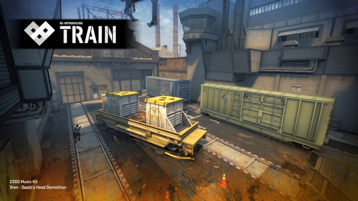 Nouvelle version de Train pour Counter-Strike: Global Offensive