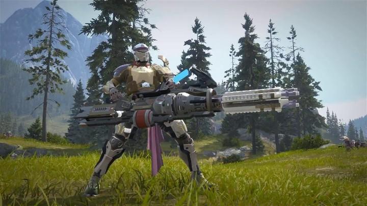 Classe jouable : présentation du Gunner (artilleur) de Skyforge (VOSTFR)