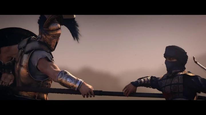 Cinématique d'introduction de Sparta: War of Empires