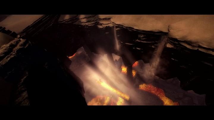 La carte du désert des territoires frontaliers McM dans Guild Wars 2: Heart of Thorns