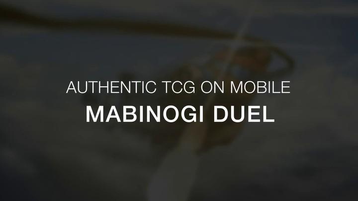 Bande-annonce de bêta internationale du TCG Mabinogi Duel