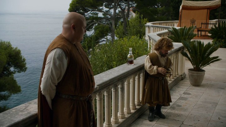 Game of Thrones Saison 5 : Lord Varys et Tyrion Lannister (le Sud)