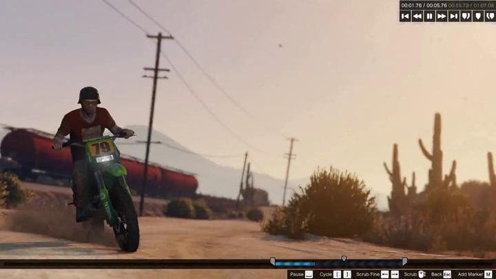 """Présentation du mode """"éditeur"""" de Grand Theft Auto V"""