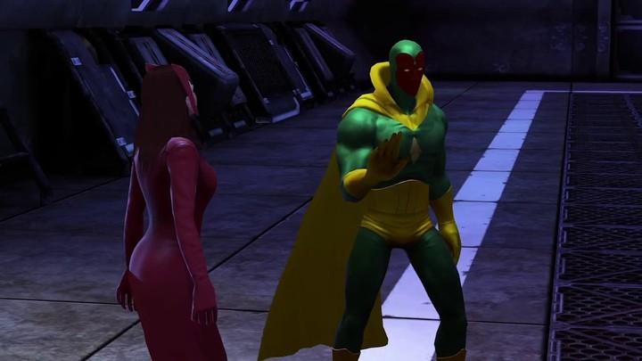 Aperçu des capacités de Vision dans Marvel Heroes