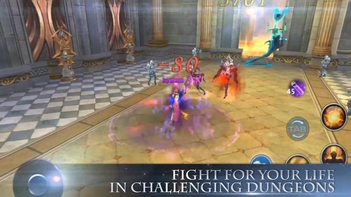 Aperçu du gameplay de Forsaken World Mobile