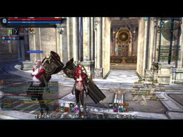 Session de gameplay de l'Artilleuse sur Tera