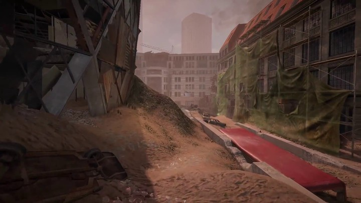 "Premier aperçu de la carte ""London"" de Survarium"