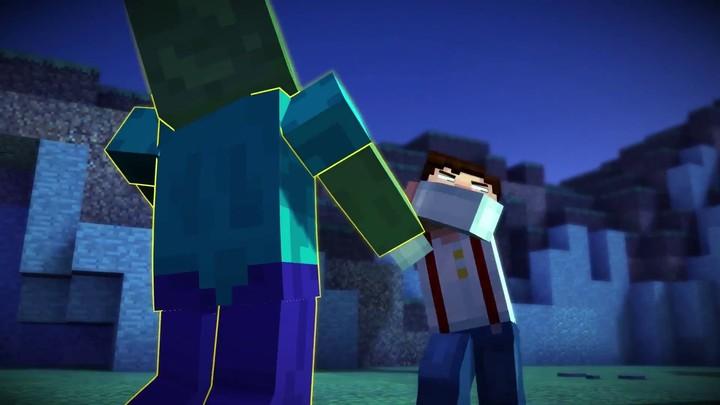 Bande-annonce (narrative) de Minecraft: Story Mode