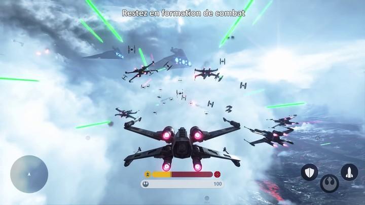 """gamescom 2015 - Bande-annonce du mode """"Escadron de Chasseurs"""" de Star Wars Battlefront (VOST)"""