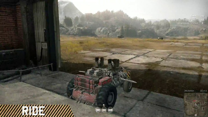 Alpha : premier aperçu mécanisé du gameplay de Crossout