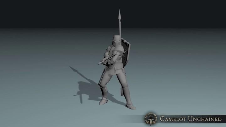 Démo des animations de combat de mêlée de Camelot Unchained