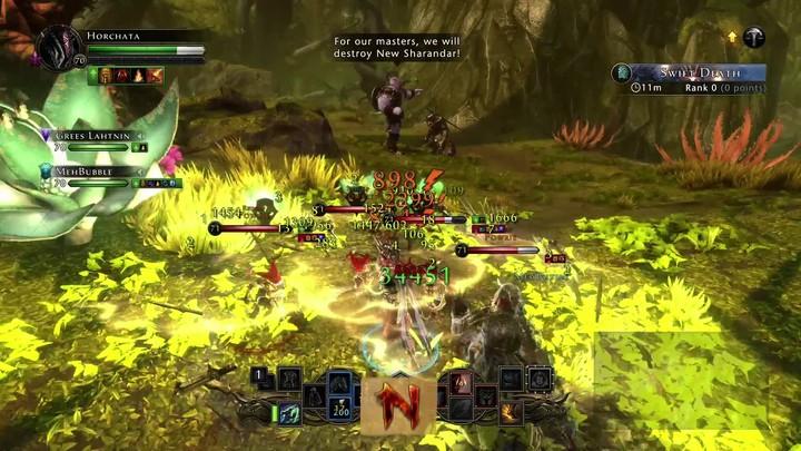Bande-annonce de la quadruple mise à jour de Neverwinter sur Xbox One