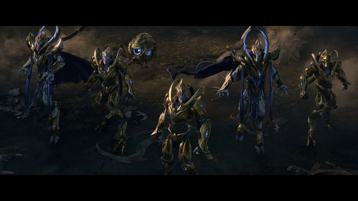 Cinématique d'ouverture de StarCraft II: Legacy of the Void