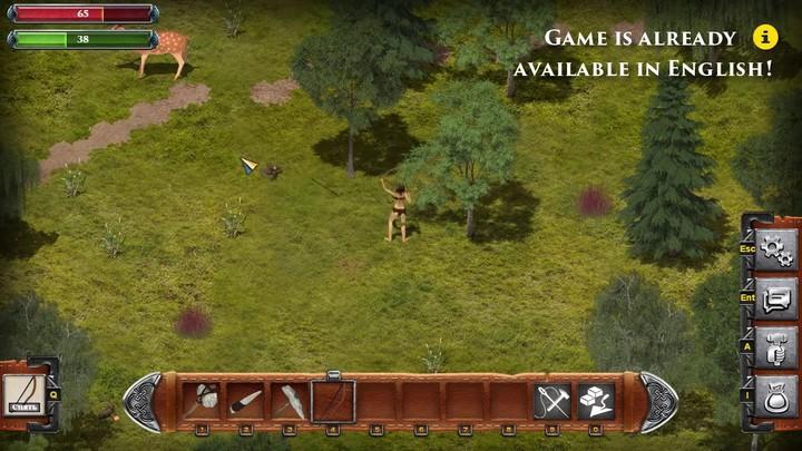 Aperçu du gameplay ouvert de Wild Terra