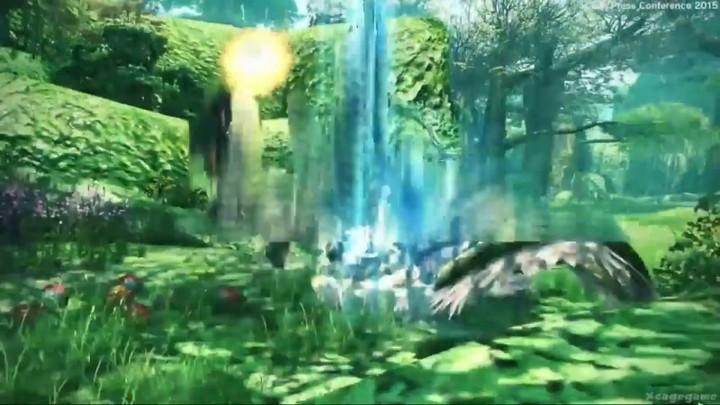 Gameplay de la version Playstation 4 de Phantasy Star Online 2