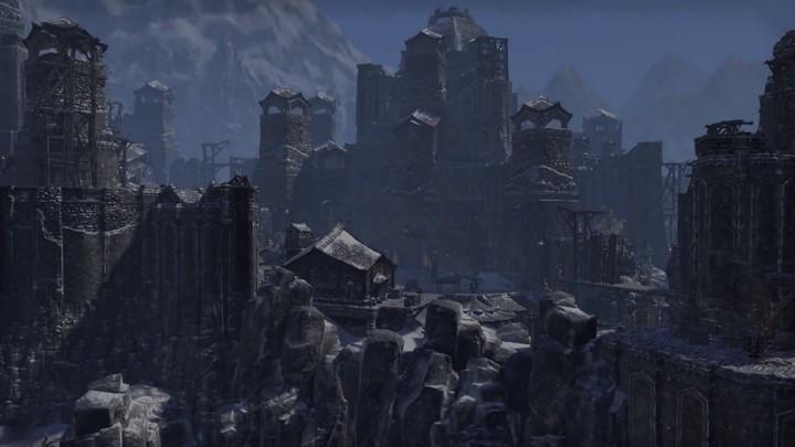 Aperçu de la cité enneigée d'Orsinium d'Elder Scrolls Online