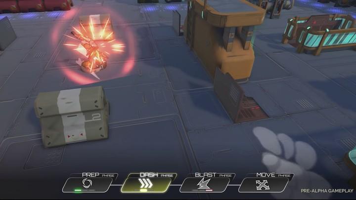 Aperçu du gameplay d'Atlas Reactor