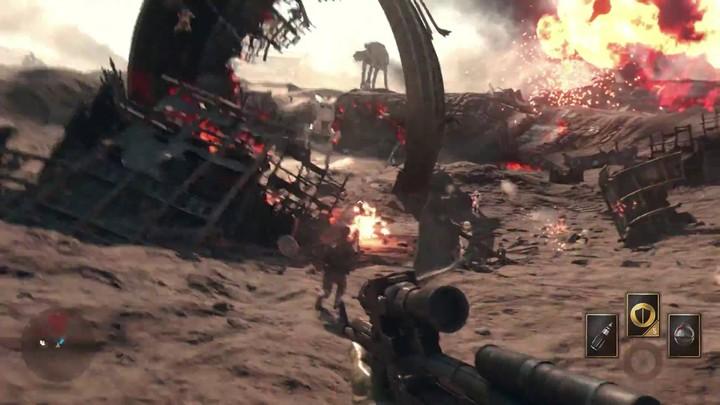 "Aperçu du nouveau mode ""Battle of Jakku"" de Star Wars Battlefront"