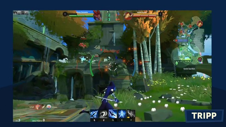 Aperçu du gameplay brut de Gigantic