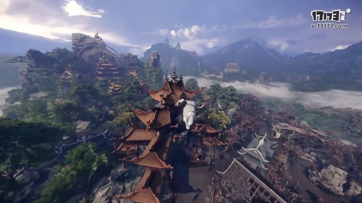 Premier aperçu de la version PC de King of Wushu