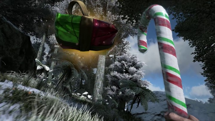 Aperçu du Winter Wonderland, la mise à jour de Noël d'ARK: Survival Evolved