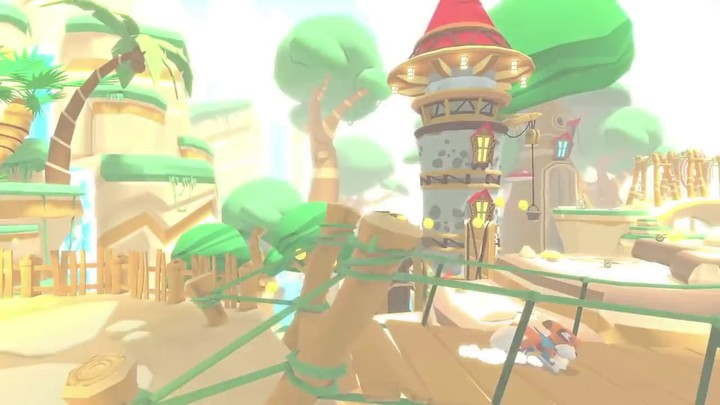 Aperçu du gameplay de Lucky's Tale