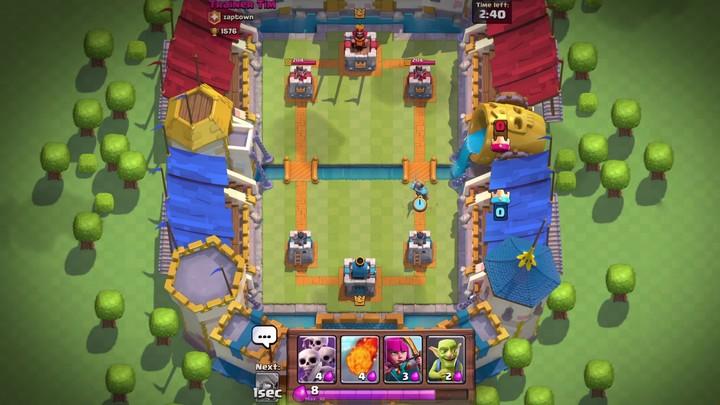 Présentation du gameplay de Clash Royale