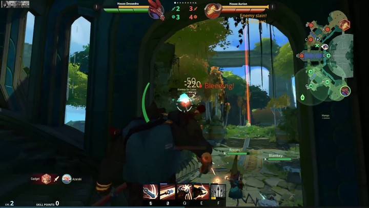 Aperçu du gameplay brut de Gigantic : le jeu en équipe