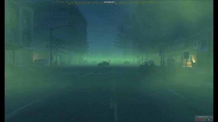 WIP : aperçu des effets de brouillard toxique de H1Z1