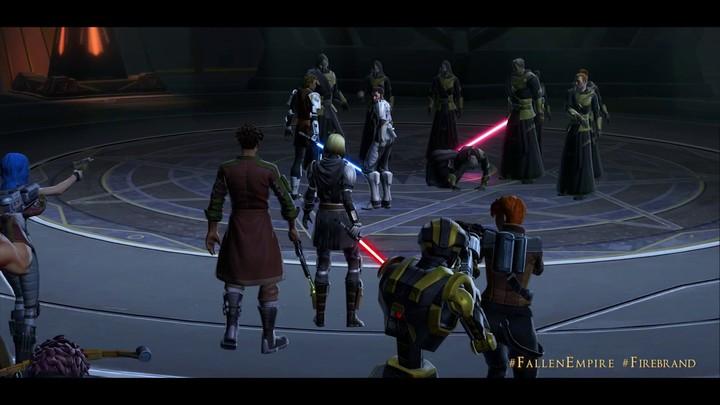 """Bande-annonce de lancement du chapitre """"Anarchie au paradis"""" de SWTOR: Knights of the Fallen Empire (VF)"""