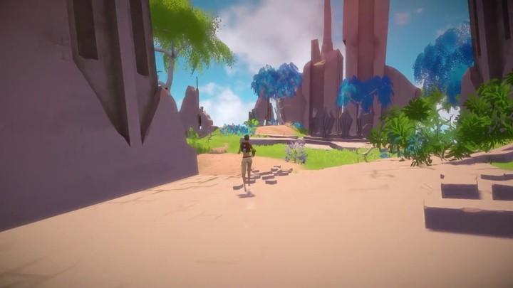Exploration d'île dans Worlds Adrift