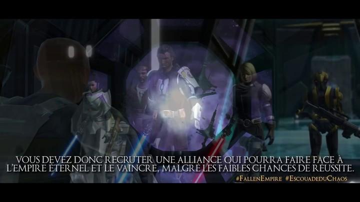 Au coeur de l'histoire de Knights of the Fallen Empire: Désaveu (VOSTFR)