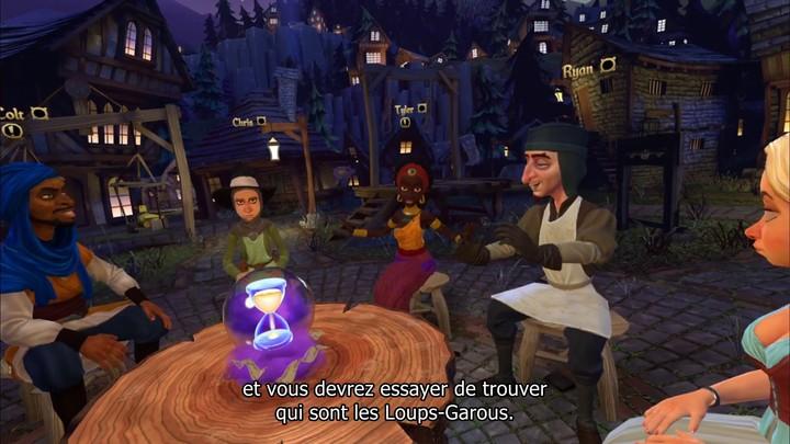 Premier aperçu de Werewolves Within, jeu social en réalité virtuelle (VOSTFR)