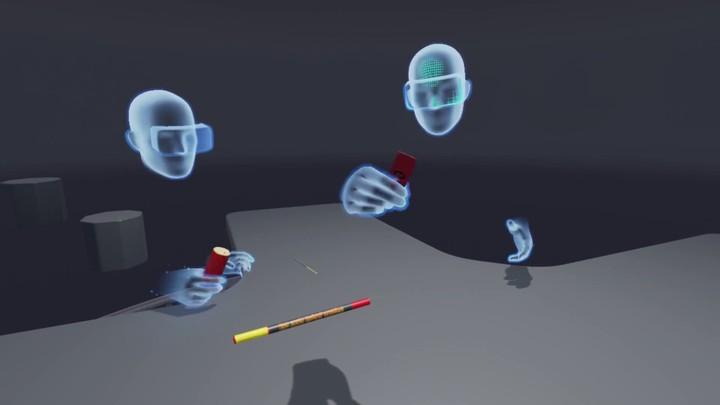 """Démo de la """"Toybox"""" pour l'Oculus Touch"""