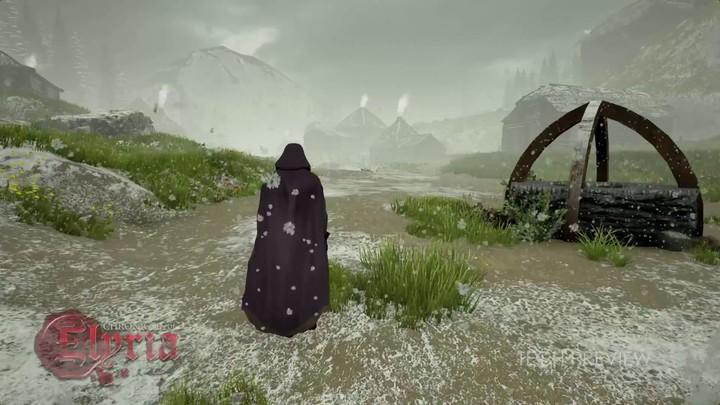 Aperçu technique du système d'enneigement des Chronicles of Elyria