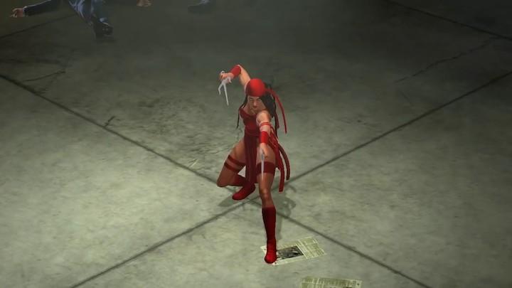 Elektra s'infiltre dans Marvel Heroes 2016