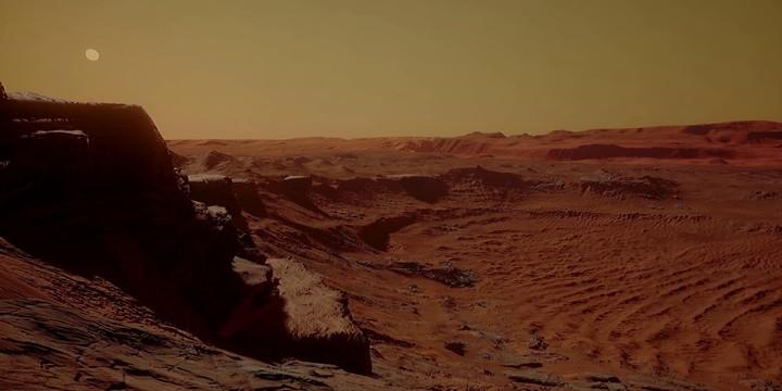 Réalité virtuelle : teaser du projet Mars 2030