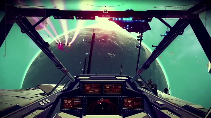 La conception de l'univers infini de No Man's Sky