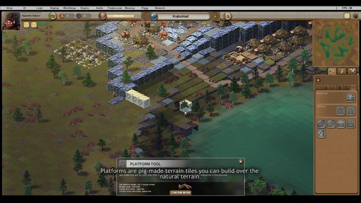 Ymir : les outils pour construire et organiser la défense de ses villes