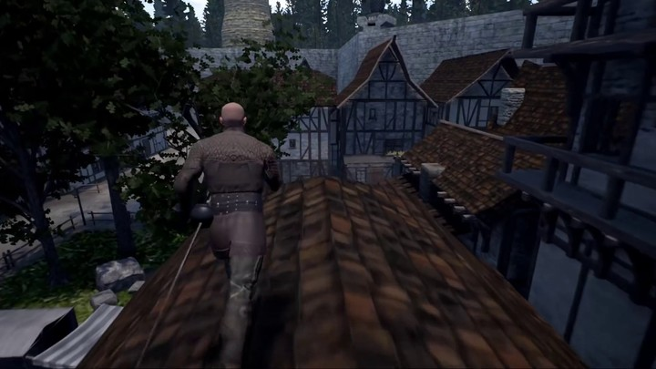 Pré-alpha : sur les toits des Chronicles of Elyria