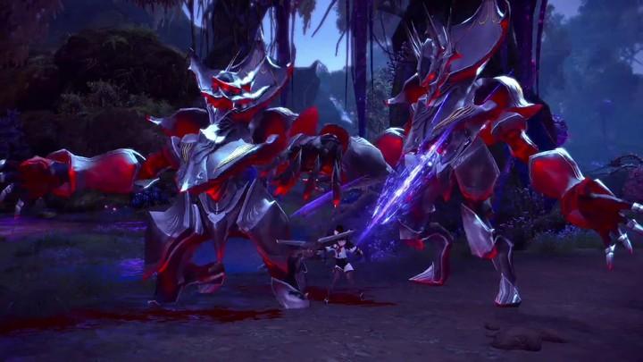 Présentation du gameplay de la Ninja de Tera
