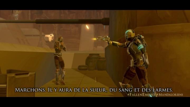 "Teaser ""La vengeance de Mandalore"" de SWTOR: Knights of the Fallen Empire"