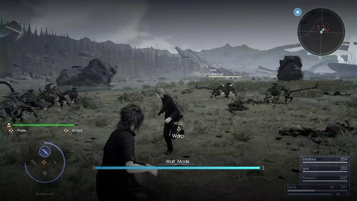 E3 2016 - Final Fantasy XV et son nouveau mode pause