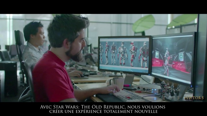 Célébration du 5ème anniversaire de Star Wars The Old Republic