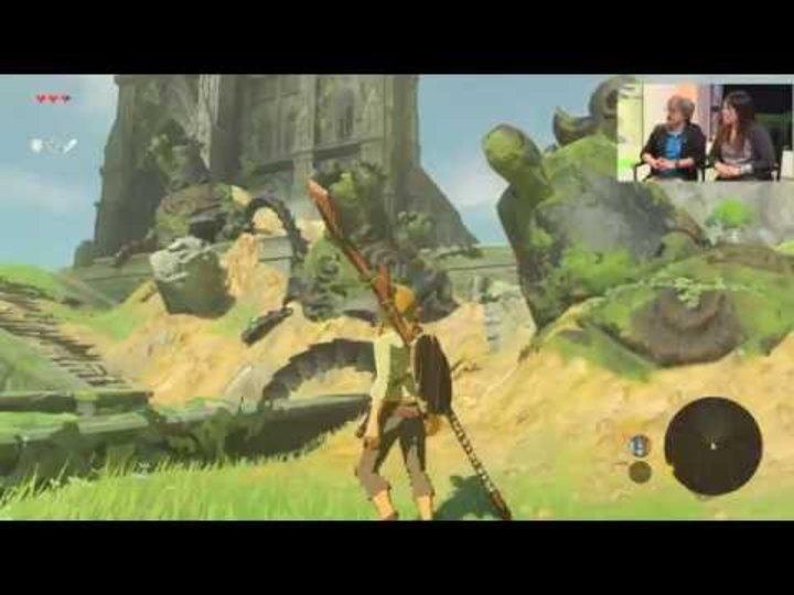 E3 2016 - The Legend of Zelda: Breath of the Wild en plus de 4h de gameplay