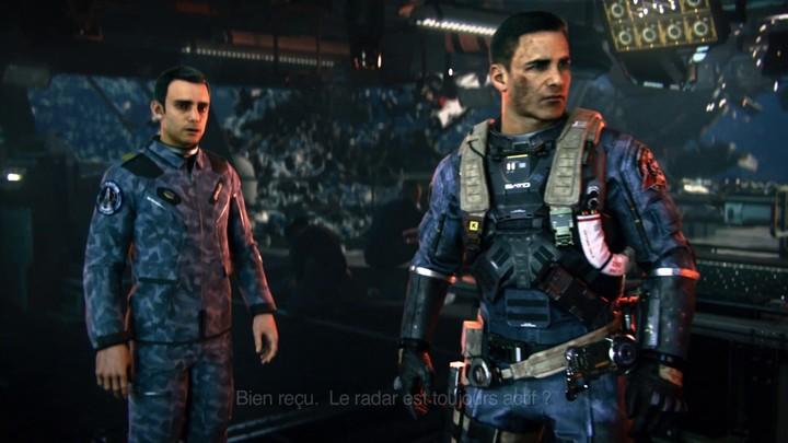Call of Duty : Infinite Warfare - Une cinématique in-game centrée sur le capitaine Reyes
