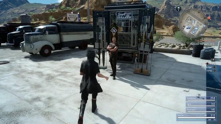 """52 minutes de gameplay sur la version """"master"""" de Final Fantasy XV (SPOILER)"""