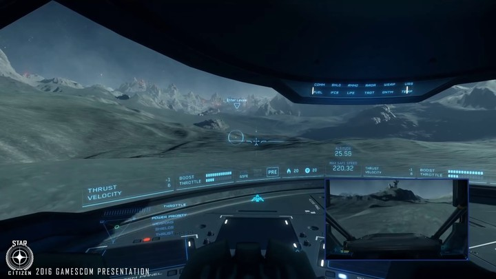 Démo gamescom 2016 de Star Citizen Alpha 3.0
