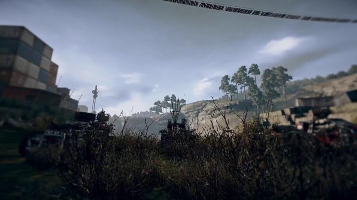 Aperçu du mode Escorte de convoi de Crossout